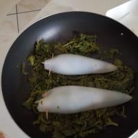 Calamari ripieni di friarielli