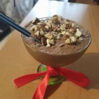 Coppa di humus al cacao amaro