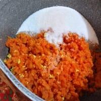 Mermelada de zanahoria paso 1