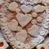 Tarta de mermelada de corazón de zanahoria paso 2