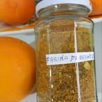 Orange flour