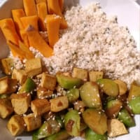 Cuenco vegano saludable