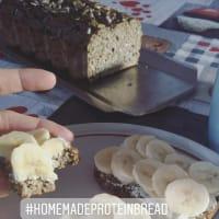 Pan de proteínas casero