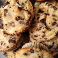 Muffin De Plátano Y Chocolate