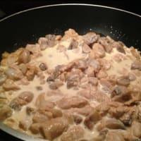 Finto pollo al curry step 4