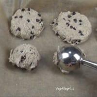 Galletas sin gluten (con gotas de chocolate) paso 4