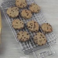 Galletas sin gluten (con gotas de chocolate) paso 5