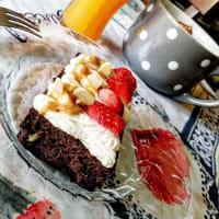 Brownies al cioccolato con fagioli rossi step 1