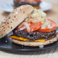 Burger di fagioli neri! step 8