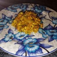 Delizie ai cereali con verdure e tritato misto