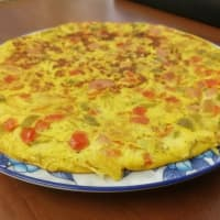 Tortilla De Pimienta Y Salchicha