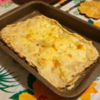 Focaccia al formaggio di recco (ricetta originale) step 8