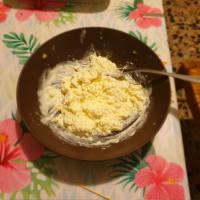 Cheesecake salata gratinata al forno step 4