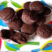Cupcakes de cacao vegano