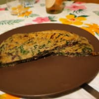 Fit pancake salato spinaci e radicchio
