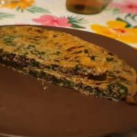 Fit espinacas y radicchio panqueques salados paso 4