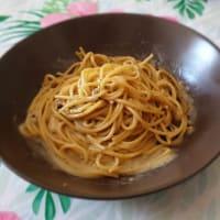 ¡Espaguetis con queso y pimienta!