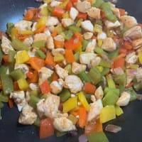 Insalata di pollo e peperoni step 5