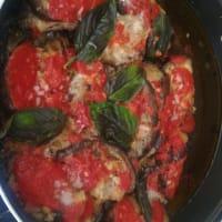 Sicilian aubergine rolls