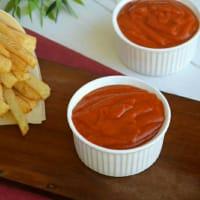 Ketchup hecho en casa