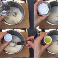 Mozzarella Di Mandorle step 2