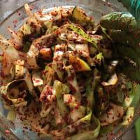 Kimchi muy facil paso 7