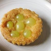 Tartelle all'uva bianca