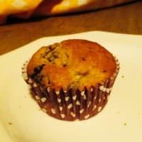 Banana and chocolate muffin