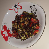 Ensalada de verano de arroz Venus