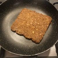 Avocado toast with salmon step 3