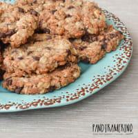 Biscotti con farina di riso fiocchi di farro e avena
