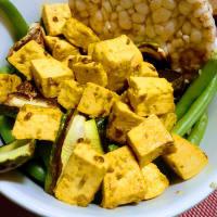 Tofu con sabor rápido y saludable