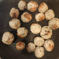 Albóndigas de pollo con hierbas paso 4