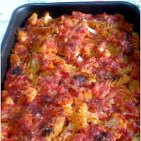 Baked Pasta With Cauliflower