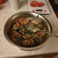 Polpette carne e spinaci al forno step 2