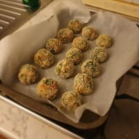 Polpette carne e spinaci al forno step 3
