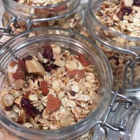 Granola con frutos secos