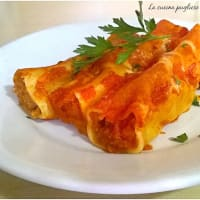 Cannelloni baked
