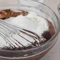 Cioccobanana muffins! step 2