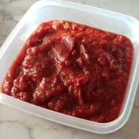 Sabrosa salsa de tomate
