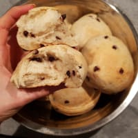 Very soft pangoccioli without butter