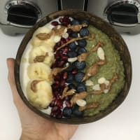 Matcha Warm Porridge