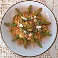 Orzotto agli asparagi