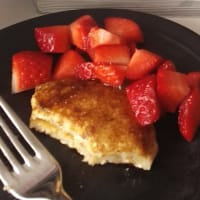 Light pancakes without eggs and fats
