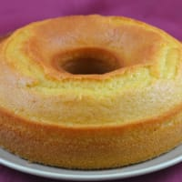 Lemon water cake