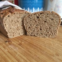 Pan Rye bag with sourdough