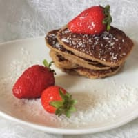 Pancake con farina d'avena e banana