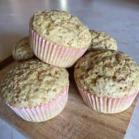 Muffin integrali al latte di mandorla