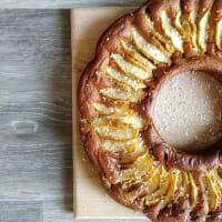 Torta Vegana di mele e cocco No Lievito