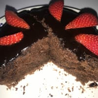 Light cocoa cake
